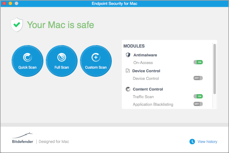 your mac is safe